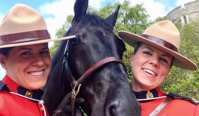 Female members of the Royal Canadian Mounted Police are now allowed to wear hijabs on the job. (Facebook, Royal Canadian Mounted Police)