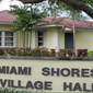 Photo of Miami Shores Village Hall. On Thursday a Miami-Dade County judge upheld the town's zoning ordinance prohibiting gardens in the front yards of town residences. Photo via Miami Shores Village's official website.