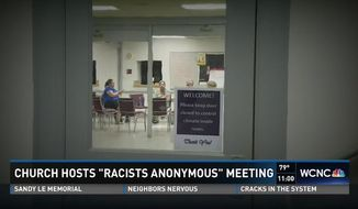 Trinity United Church of Christ in Concord, North Carolina, has taken a page out of the Alcoholics Anonymous playbook to launch a 12-step program for racists. (WCNC)