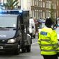 A counterterrorism operation that involved calling in a bomb squad netted five suspects in England on Friday, Aug. 26, 2016. (Associated Press) ** FILE **