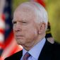 Sen. John McCain is expected to easily win his primary race Tuesday in Arizona against a challenger who calls him old and weak.