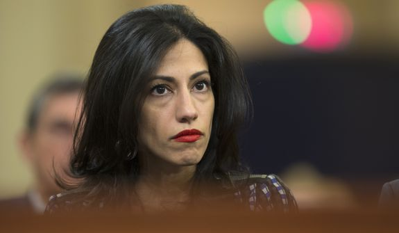Huma Abedin announced Monday that she is separating from her husband, Anthony Weiner, after the former congressman and New York City mayoral candidate was caught up in yet another sexting scandal. (Associated Press)
