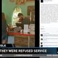 """A Tropical Smoothie Cafe in Winter Haven, Florida, said it """"immediately"""" fired an employee who reportedly refused service to Lake Alfred Police Officer Adam Leatherberry and Winter Haven Police Officer Geoff Price on Sunday. (WTSP)"""