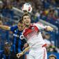 Former Maryland star Patrick Mullins has served as a strong and shrewd outlet up top to help invigorate his attacking midfield D.C. United teammates since being acquired in July. (credit) **FILE**