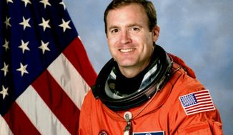 James Halsell, former astronaut, in his NASA portrait. In the public domain, via Wikipedia. Accessed Sept. 1, 2016.