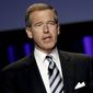 Brian Williams returns to his role as anchorman on MSNBC Tuesday night. (Associated Press)