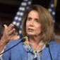 """House Minority Leader Nancy Pelosi said """"we need to have a (Zika funding) bill that is clean, that comes to the floor. And by clean, I mean no poison pill."""""""