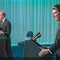 Eighty-one million people tuned into the1980 presidential candidate debate between Ronald Reagan and then-President Jimmy Carter. (Ronald Reagan Presidential Library)