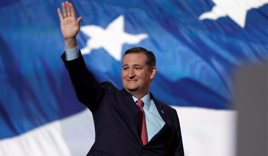Following his nonendorsement of Donald Trump at the RNC, supporters of the Republican candidate say Mr. Cruz has sealed his own doom in the party. (Associated Press) ** FILE **