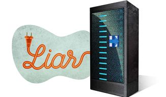 Server Confirms Hillary Lies Illustration by Greg Groesch/The Washington Times
