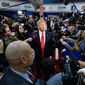 Wary of how the press treats Donald Trump, Republicans have the least amount of trust in the media, a Gallup poll finds. (Associated press)