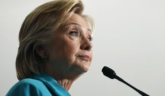 The latest conspiracies center on Hillary Clinton's health, including rumblings that the former secretary of state is terminally ill or that she has resorted to using a body double on the campaign trail as a cover. But the trove runs much deeper. (Associated Press)