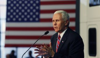 Republican vice presidential candidate Indiana Gov. Mike Pence has made regular trips to Pennsylvania in support of his running mate Donald Trump, including a campaign stop Wednesday in Scranton. (Associated Press)
