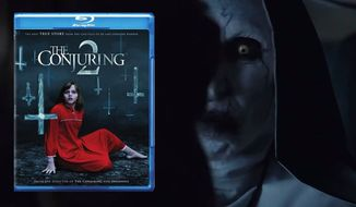 """A demon dressed as a nun possesses a child in """"The Conjuring 2,"""" now available on Blu-ray from Warner Bros. Home Entertainment."""