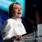 Democratic presidential candidate Hillary Clinton had top surrogates in an all-out assault to fend off Republican Donald Trump. (Associated Press)