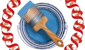 Red Tape Attack on Coatings Industry Illustration by Greg Groesch/The Washington Times