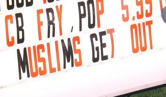 Treats Family Restaurant in Lonsdale, Minnesota, is telling Muslims they're not welcome following Saturday's stabbing attack at a St. Cloud shopping mall that left nine people injured. (CBS Minnesota)