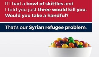 """David Kittos, the photographer behind the Skittles photo used by Donald Trump Jr. to explain the """"Syrian refugee problem,"""" was once a refugee himself and says his photo was stolen without his permission."""