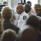 Charlotte Police Chief Kerr Putney says officers gave a black suspect warnings to drop a weapon before firing. (Associated Press) ** FILE **