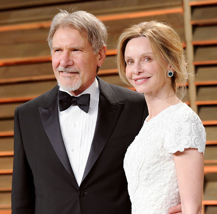 Harrison Ford Is 22 Years Older Than Actress Calista