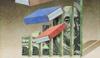 Economic Education Illustration by Greg Groesch/The Washington Times