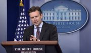 White House press secretary Josh Earnest speaks during the daily briefing at the White House in Washington, Monday, Sept. 26, 2016. Earnest answered questions about Syria and the Presidential debate. (AP Photo/Susan Walsh)