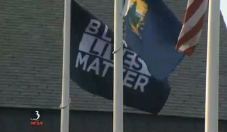 The University of Vermont has raised another Black Lives Matter flag to fly alongside the U.S. and state flags after the first one was stolen Saturday night. (WCAX)