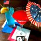 """Debate night cocktails abound around the nation. These - 'Donkey Punch' and """"Elephant in the Room' - are from the Pine Box Rock Shop, a creative bar in Brooklyn, New York. (Image from Pine Box Rock Shop"""
