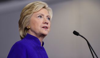 Plenty of Hillary Clinton's surrogates will be on the campaign and fundraising  trail this week. (AP Photo/Matt Rourke)