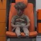 "Five-year-0ld Omran Daqneesh sits in an ambulance after being pulled out of a building hit by an airstrike in Aleppo, Syria. White Helmets chief Raed al-Saleh said the city's 275,000 civilians are ""sitting in their homes, waiting to die"" amid airstrikes. (Associated Press)"