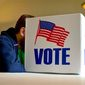 Only 69 percent of the nation are sure they will vote Nov. 8, a poll found. (Associated Press)