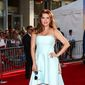 """Alicia Machado attends the LA Premiere of """"The BFG"""" held at El Capitan Theatre on Tuesday, June 21, 2016, in Los Angeles. (Photo by John Salangsang/Invision/AP)"""