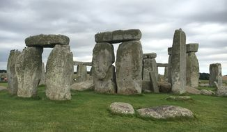 Stonehenge, located on the Salisbury Plain in the southwest of England.  (Eric Althoff)