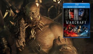"""Orgrim and his orc brethren steal the show in """"Warcraft,"""" available on Blu-ray from Universal Studios Home Entertainment."""