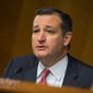 Sen. Ted Cruz of Texas says President Obama is diluting American power and creating space for rogue actors by giving up control of the internet 'address book.' (Associated Press)