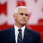 """Indiana Gov. Mike Pence """"is the most conservative vice presidential nominee"""" in 50 years, according to the American Conservative Union. (Associated Press)"""