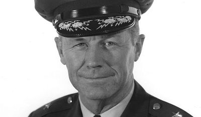Gen. Chuck Yeager, USAF (Ret), the man who broke the sound barrier. By United States Air Force - http://www.af.mil/, Public Domain, https://commons.wikimedia.org/w/index.php?curid=11778547