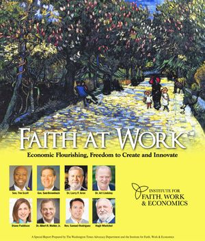 Download the Special Report prepared by The Washington Times Advocacy Department and  Institute for Faith, Work & Economics and available in the October 7, 2016, edition of The Washington Times. (4.0 MB)