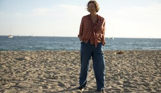 """This image released by A24 shows Annette Bening in """"20th Century Woman."""" The film, about three women who explore love and freedom in Southern California during the late 1970s, stars Bening, Greta Gerwig and Elle Fanning. The film makes its world premiere at the New York Film Festival. (Gunther Gampine/A24 via AP)"""