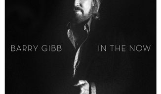 "This CD cover image released by Columbia Records shows ""In the Now,"" by Barry Gibb. (Columbia Records via AP)"