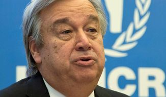 Antonio Guterres   Associated Press photo