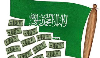Saudi Accountability for September Eleven Illustration by Greg Groesch/The Washington Ti
