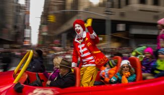 McDonald's has announced that appearances by mascot Ronald McDonald will be limited due to a spate of clown-related crime and pranks. (Associated Press)