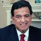 Former New Mexico Gov. Bill Richardson poses for a photograph in his office in Santa Fe, N.M., on Jan. 6, 2016. (Associated Press) **FILE**