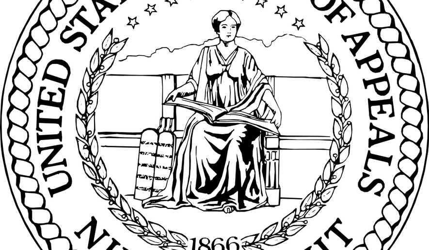 Seal of the 9th Circuit Court of Appeals, via Wikimedia Commons.