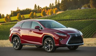 2016 Lexus RX 350 (Photo by Rita Cook)