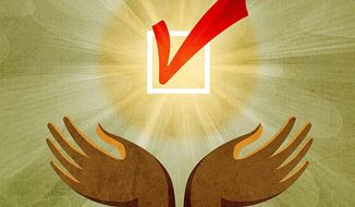 Importance of the Black Vote Illustration by Greg Groesch/The Washington Times