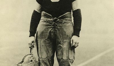 Jim Thorpe - A member of the Sac and Fox Nation, Thorpe became the first Native American to win a gold medal for his home country. Considered one of the most versatile athletes of modern sports, he won Olympic gold medals in the 1912 pentathlon and decathlon, played American football (collegiate and professional), and also played professional baseball and basketball. He lost his Olympic titles after it was found he had been paid for playing two seasons of semi-professional baseball before competing in the Olympics, thus violating the amateurism rules that were then in place. In 1983, 30 years after his death, the International Olympic Committee (IOC) restored his Olympic medals. Thorpe grew up in the Sac and Fox Nation in Oklahoma. He played as part of several all American Indian teams throughout his career, and barnstormed as a professional basketball player with a team composed entirely of American Indians. From 1920 to 1921, Thorpe was nominally the first president of the American Professional Football Association (APFA), which would become the National Football League (NFL) in 1922. He played professional sports until age41, the end of his sports career coinciding with the start of the Great Depression.