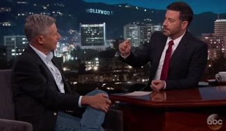 """Gary Johnson said Wednesday night on """"Jimmy Kimmel Live"""" that the biggest lie told during the final presidential debate came from Hillary Clinton. (Jimmy Kimmel Live)"""