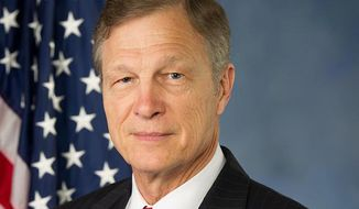 """Rep. Brian Babin, Texas Republican, on Thursday defended Donald Trump for calling Hillary Clinton a """"nasty woman"""" at the final presidential debate. (Wikipedia)"""